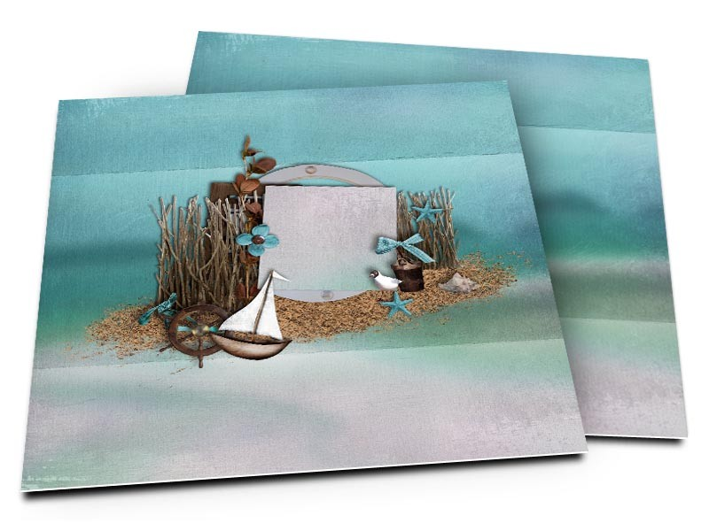 sea little boat on turquoise background wedding invitation by. Black Bedroom Furniture Sets. Home Design Ideas